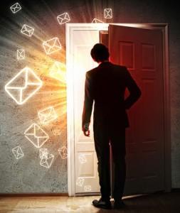 opening door like emails