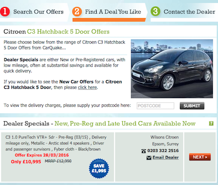 SEO of Car Automotive Website